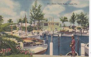 Florida Dania The Dania Yacht Club Curteich