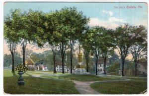 Calais, Me, The Park