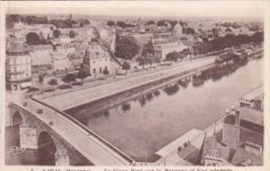 France Laval Le Vieux Pont sur la Mayenne et Vue generale