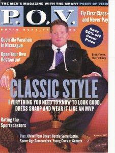 Advertising P O V Men's Magazine