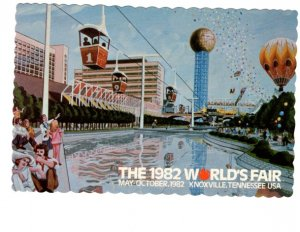 1982 World's Fair, Knoxville Tennessee, Sky Ride, Sunsphere