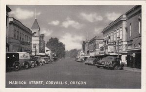 Oregon Corvallis Madison Street sk6345