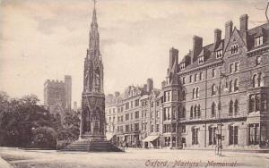 Martyrs' Memorial, Oxford (Oxfordshire), England, UK, 1900-1910s