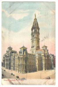 City Hall, Philadelphia Pennsylvania, PU-00-10s