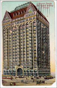 Masonic Temple, Tallest Building in Chicago  (damaged)