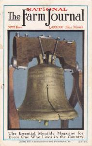 National The Farm Journel magazine, Liberty Bell cover, 1910s