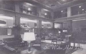 Sir Walter Hotel Lobby -  Raleigh NC, North Carolina