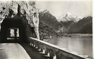 Switzerland Postcard - Vierwaldstattersee - Axenstrasse Fluelen - Ref TZ7649