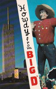 Texas Dallas Howdy From Big D