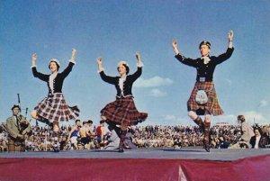 Scotland Highland Dance At Highland Games