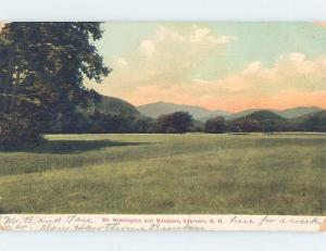 Pre-1907 NATURE SCENE Intervale - White Mountains New Hampshire NH A1580