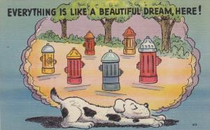 Comic, Polka Dot Dog, Everything Is Like A Beautiful Dream, Here!, 1930-1940s