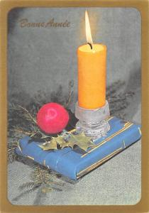 Bonne Annee, Present, Candle Global Happy New Year