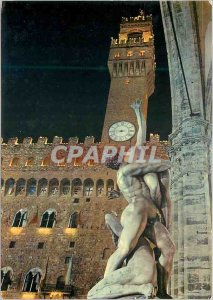 Postcard Modern Firenze Removal of the Sabine and Tower Arnolphe