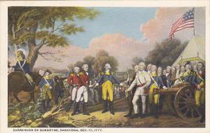 Surrender Of Burgoyne Saratoga 17 October 1777 Painting By John Trombull