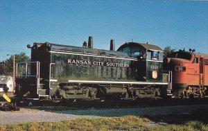 Kansas City Southern Railway EMD NW-2 Locomotive #1221