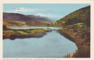 Margaree River , Cabot Trail , Cape Breton , Nova Scotia , Canada , PU-1956