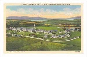 Aerial of Veterans Hospital,Tupper Lake, NY / New York 1930-40s