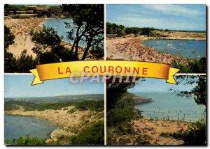 Modern Postcard The crown Beaches