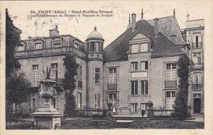 France Vichy Hotel-Pavillon Sevigne 1932