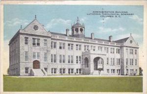 South Carolina Columbia Administration Building Lutheran Theological Seminary...