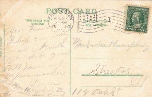 P1782 1910 coles county court house charleston illinois