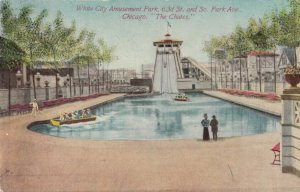 CHICAGO, Illinois, 1910; White City , 63rd St. & S. Park Ave., The Chutes