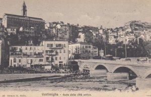 VENTIMIGLIA, Italy, 1900-1910's; Parte della citta antica
