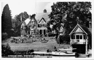 BURCOT BURCOTE ON THAMES OXFORDSHIRE ENGLAND~RIVERSIDE HOTEL PHOTO POSTCARD 1949