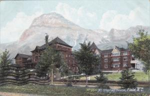 FIELD, British Columbia, Canada, PU-1907; Mt. Stephen House