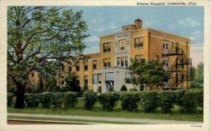 Wayne Hospital Greenville OH Unused