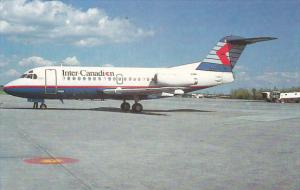 Canada Inter Canadian Fokker F.28-1000 at Montreal-Dorval Airport