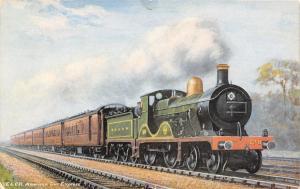 Charing Cross to Folkestone~Hastings~American Cars~SE&C Railway TUCK c1910