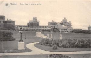 Belgium Ostende Chalet Royal du cote de la ville