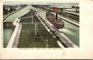 Michigan Sault Ste Marie The Famous Soo Locks