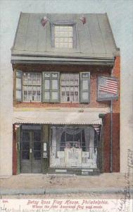 Pennsylvania Philadelphia Betsey Ross House Where First American Flag Was Mad...