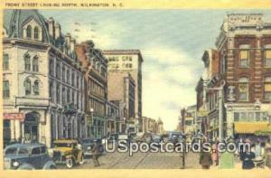Front Street Wilmington NC 1943 Missing Stamp