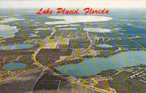 Aerial View Of Lake Placid Florida