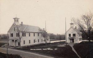 RP: POST MILLS , Vermont , 1900-10s ; Hall & School