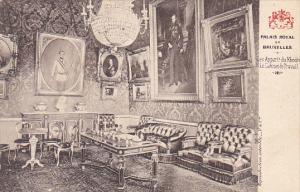 Belgium Brussells Palais Royal Les Appartements du Khedive Le Cabinet de Trav...