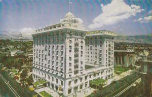 Hotel Utah, Classic Cars, SALT LAKE CITY, Utah, 40-60's