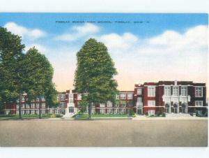 Linen HIGH SCHOOL SCENE Findlay Ohio OH E2297