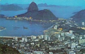 Postcard Pan Am Sugarloaf Mountain Brazil