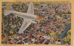 Chesapeake Airways Inc, Airplane, 30s-40s Salisbury , Maryland