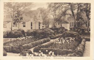 WILLIAMSBURG, Virginia, 1900-1910's; Garden of the James Geddy House