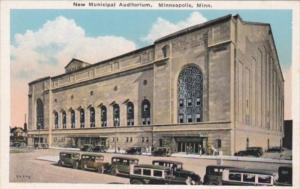 Minnesota Minneapolis New Municipal Auditorium
