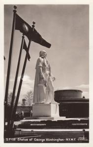 RP: New York World´s Fair 1930s ; George Washington