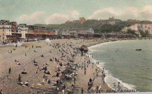 DOVER, Kent, England, UK, 1907 ; Beach & Castle