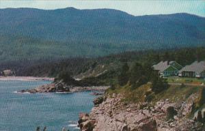 Canada Nova Scotia Cape Breton View At Keltic Lodge Looking Toward Ingonish