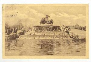 Fountain / Gefion Monumentet,Copenhagen,Denmark 1900-10s